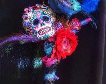 Dia de Los Muertos Wall Art/Costume Prop