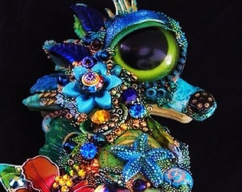 The Fantastic Bead Mosaics Sealife Mini Series The Little Green Reef Seahorse