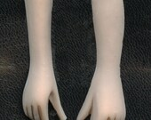 Polymer Clay Flesh  Doll  Arms and Hands drilled HNDS 3