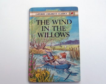 Vintage Ladybird Book - The Wind in the Willows - excellent vintage condition- children's story Book