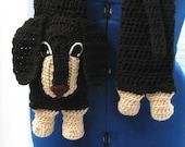 Dachshund Dog Scarf Crochet Pattern to Download