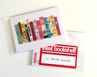 Pack of 20 assorted Ideal Bookshelf postcards