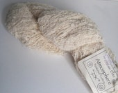 1 hank of Classic Elite Atmosphere Textured Cotton yarn destash