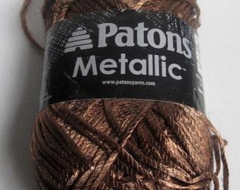 1 skein ofPatons Metallic yarn destash