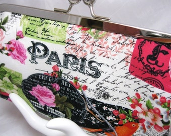 Coupon Organizer Purse Paris Garden