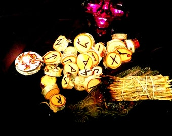 I Will Pick One Lucky Rune For You By  Ugly Shyla The Rune You Need witch occult curio lucky charm