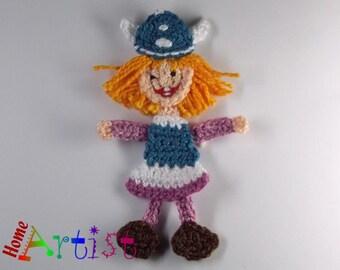 Crochet Applique Wikinger