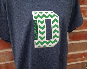 Personalized School Spirit Shirt In Your Team Colors Custom Made