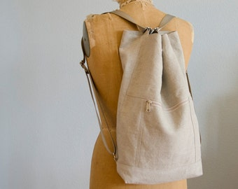 ABLE Tote/Backpack - Natural
