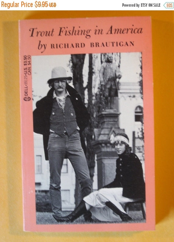 Sale trout fishing in america by richard brautigan by for Trout fishing in america