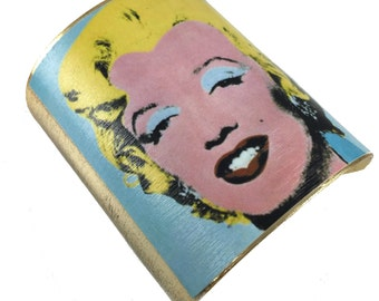 Marilyn Monroe 24k Plated Cuff - Warhol