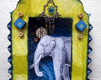 Art Shrine - Mini Wall Shrine Assemblage