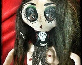 Hekate protector of outcasts doll by kook teflon