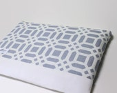 MacBook Air Case 11, 13 inch Women's Laptop Sleeve, MacBook Air Cover - Gray Lattice