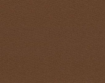 Chocolate Brown Bella Solids cotton quilting fabric from Moda 9900 41