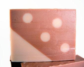 Cinnamon Toffee Shea Butter Soap, Cinnamon Toffee Scented Soap, Shea Butter Soap, 4 Available