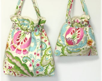 Mommy and Me Handbags Quilted Mother Daughter Kumari Gardens