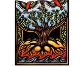 Special order for Judy-Rising Ohia original print
