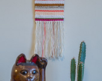 New Mexico One of a Kind Handmade Weaving by Jackie Dives