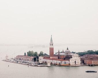 Venice Photography, Italy Art Print, Venice Wall Art, Fog and Rain, Fine Art Photography, Large Art, Italian Wall Decor - La Nebbia