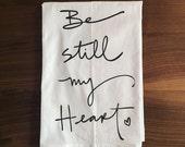 Screen printed dish towel (1) - Jane Austen