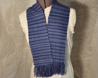 "Scarf ""Shades of Blue"""