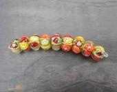 Fruit Loops - SRA handmade glass lampwork beads Lori&Kim