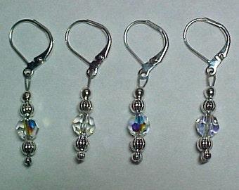 Removable Stitch Markers - Swarovski Crystal Beads - Item No. 907