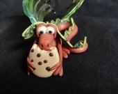My Cookie Dragon - OOAK ELEMENTAL DRAGON
