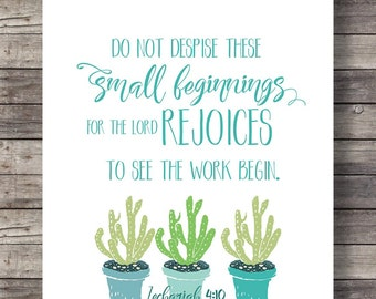 """Zechariah 4:10 