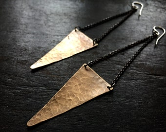 Big Angular Earrings
