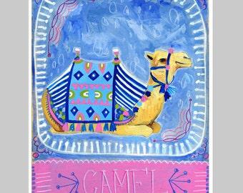 Animal Totem Print - Camel