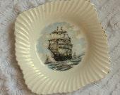 Nautical Ship Jewelry China Ring Dish Holder