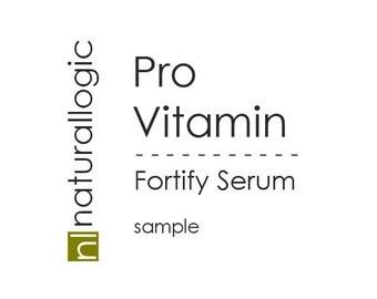 Pro-Vitamin Serum - Organic, Bioactive, Nutrient Dense - Vitamins, Phytonutrients, Antioxidants, and Omegas. All Natural. Vegan. SAMPLE