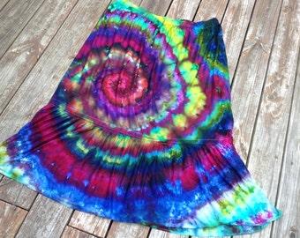 4x tie dye skirt plus size tie dye size 28 size 30 tie dye maxi skirt