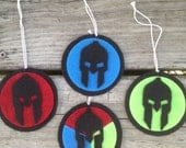 Spartan race holiday ornaments Sprint, Super, Beast, Trifecta