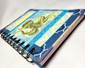 Handcrafted Art Journal, Octopus