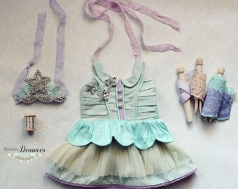 Doll PDF Dress Girls Sewing Pattern Lucy Star