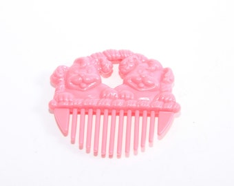 My Little Pony Pink Comb, with My Little Puppy Lady Labrador - Li'l Litters Comb Accessory