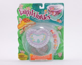 Fairy Winkles Vintage Secret Playland Treat Box Playset Mint IN Box Cute! Kenner  ~ The Pink Room ~ 170121