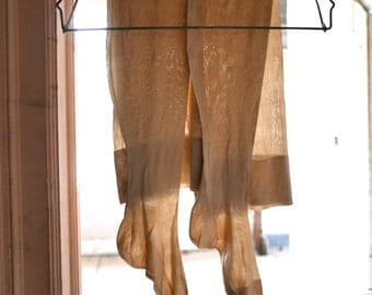 Extra Large Silk Knit Stockings