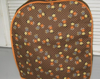 Autumn flair Kitchen aid mixer cover,in browns, orange & yellow