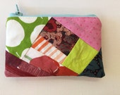 Notions Pouch Zippered Sewing Knitting Crocheting EXTRA Small