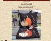 Fall Trio Pattern ~ PDF Instant Download