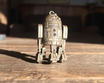 Vintage original R2D2 Star Wars Pendant - Gift from First Showing
