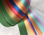"5/8"" Weaving Paper Strips~ Assorted Dark Shimmers (100 strips)"