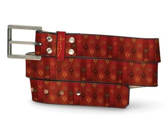 Persian Empire Leather Belt, Persian Belt, Leather Belt Empire, Middle East Leather Belt, Pretty Leather Belt