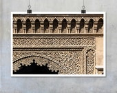 Travel Photography - Moroccan Architectural Detail, abstract pattern - 10x8 11x14 20x30 inch fine art photography wall art