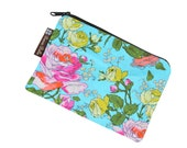 Catch All Bag holds chargers - cords - make up - collections - hard drives - FAST SHIPPING - Sketchbook Beauty Fabric