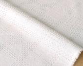 Japanese Fabric Kokka Tsumiki Check - flocked fabric - A - 50cm